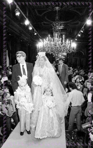 Abiti Da Sposa Ysl.Abiti Da Sposa Di Yves Saint Laurent Retrospettiva Illustrata