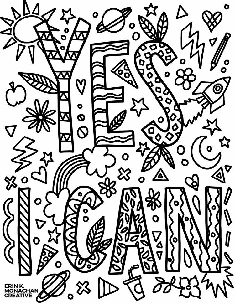 - Pin On Growth Mindset Coloring Pages