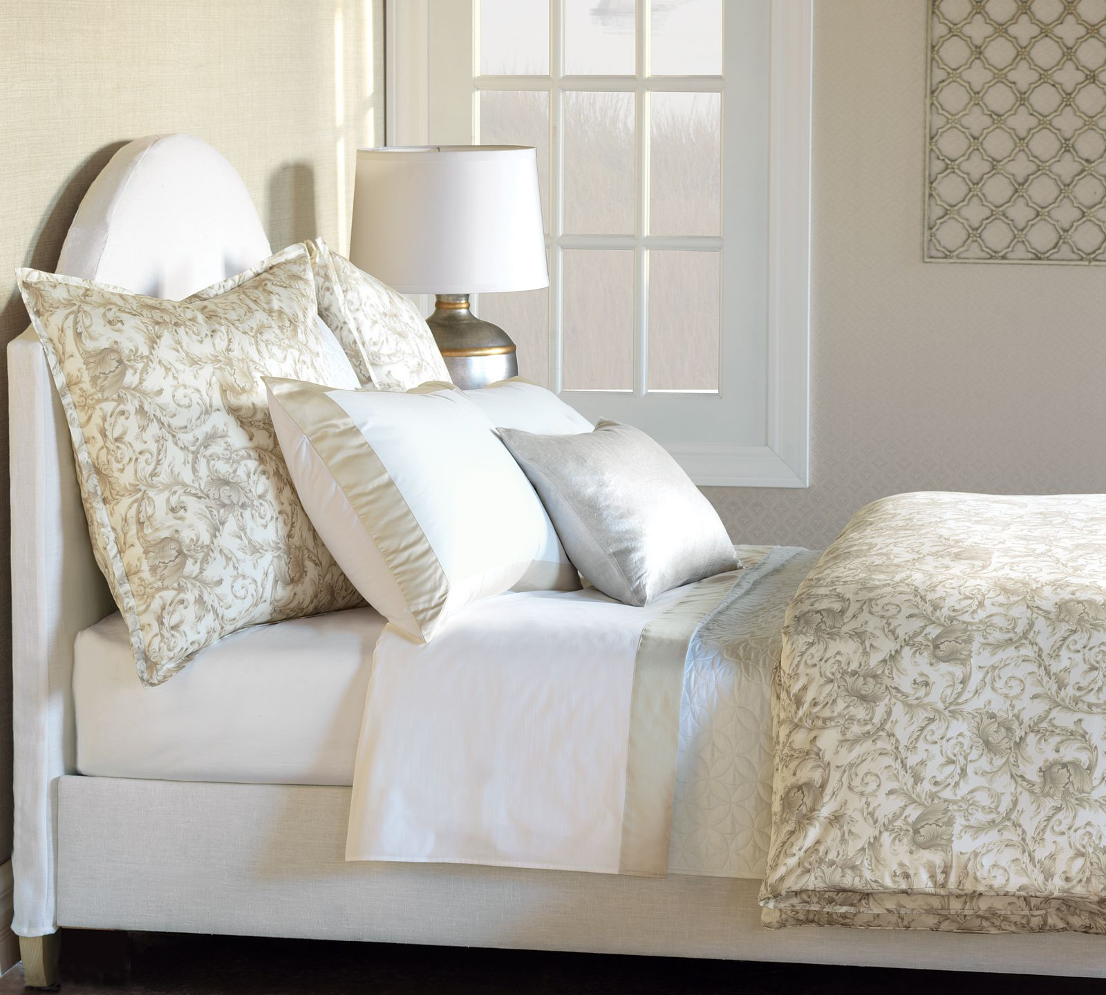 perfect Nancy Koltes. luxury Fine Italian linens by Nancy Koltes