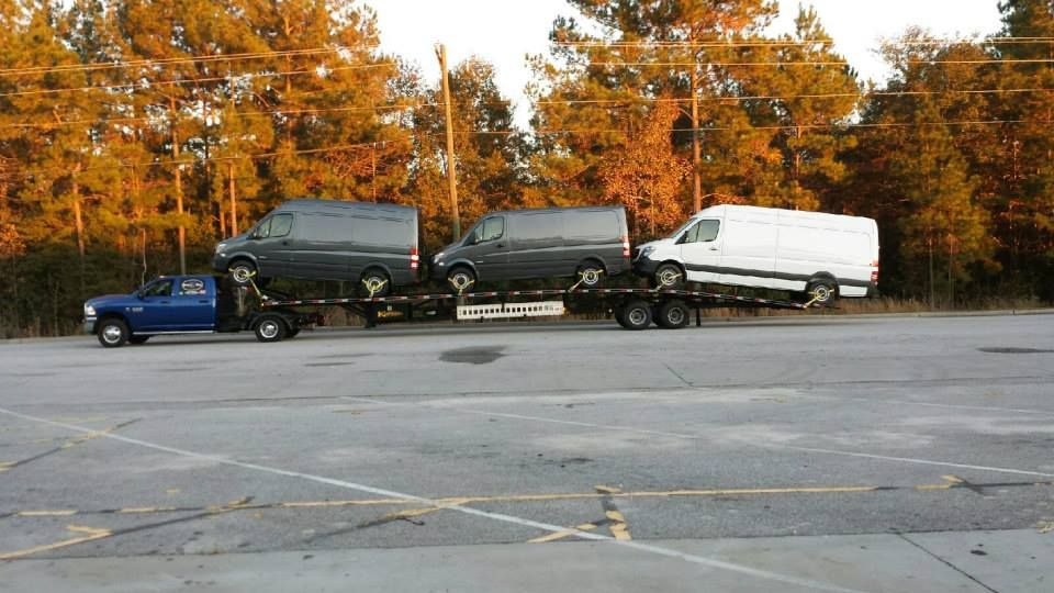 Low Profile Wedge Trailer Hauls Taller Vehicles Without Going Over