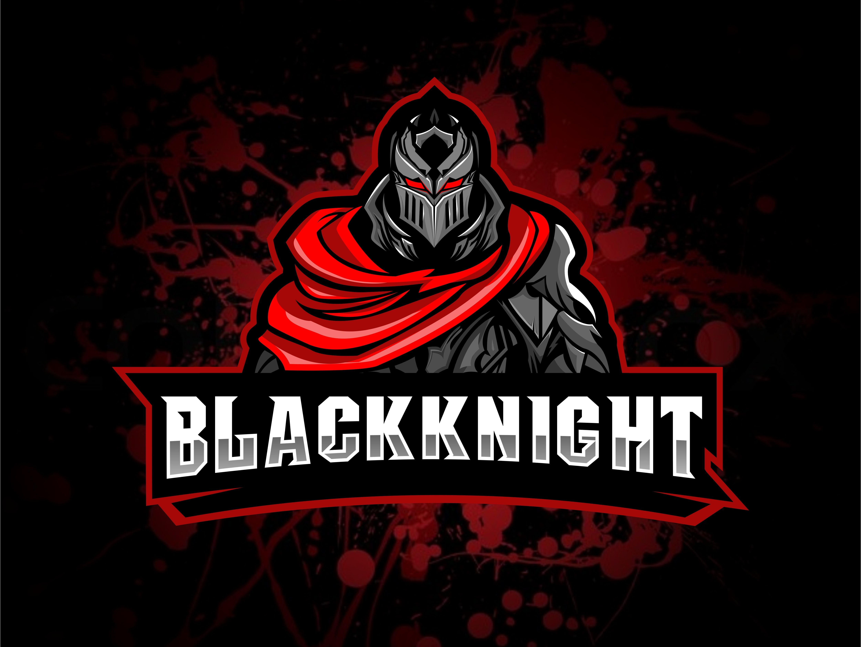 Black Knight Knight Logo Warrior Logo Photo Logo Design