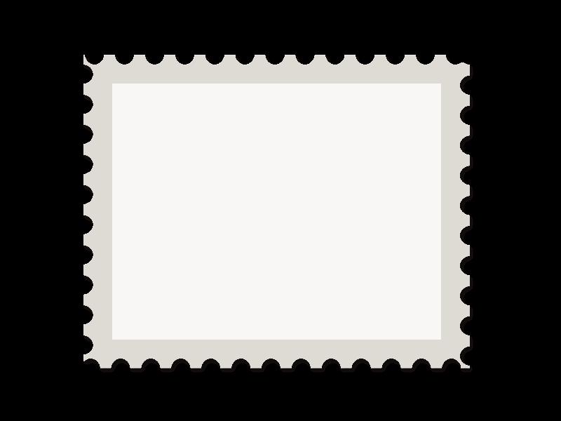 Postage Stamp Template Free Png Stamp Frame Custom Postage Stamps Stamp