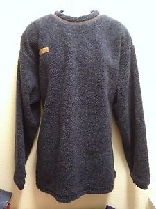 Columbia Mens Blue Thick Fleece Pullover Sweater XL Made in USA ...