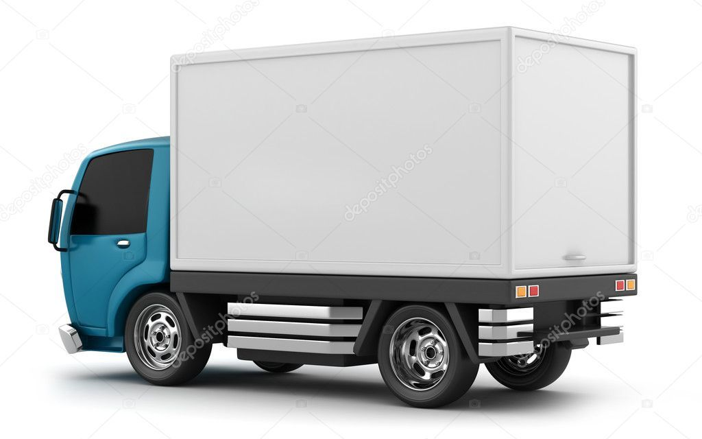 Delivery Truck Stock Photo Sponsored Truck Delivery