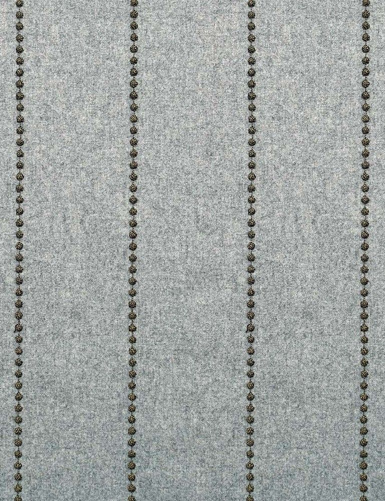 Drizzle Cloud FabricA smart embroidered wool flannel with metallic yarn.