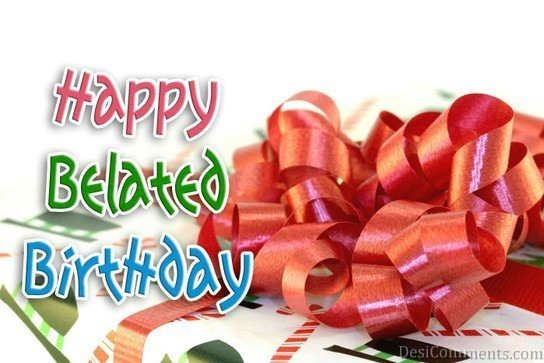 Happy belated birthday gift graphic for share on facebook happy belated birthday gift graphic for share on facebook negle Images
