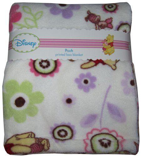 Disney Winnie The Pooh Piglet Baby Fleece Blanket 30 34 X 40 34 Flowers White By Disney 12 99 Measurement 30 Kids Bedding Kids Kitchen Baby Piglets