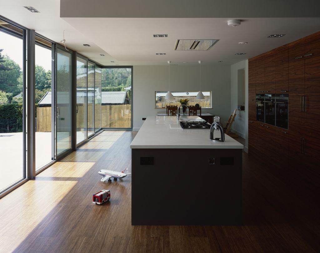 Glass-to-glass corner and Sunflex Sliding doors & Glass-to-glass corner and Sunflex Sliding doors | kitchen ...