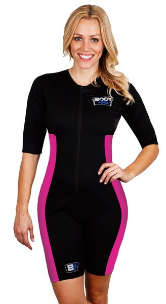 d1deb7a419  Bodyspa  sweatmore SAUNA SUIT TO MAKE YOU SWEAT FOR WEIGHT LOSS WITH  SLEEVES BY BODY SPA. Sauna Suit Neoprene Weight Loss GYM Sport Aerobic ...