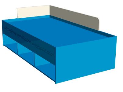 Dise o de muebles madera construci n cama para ni os for Software para melamina