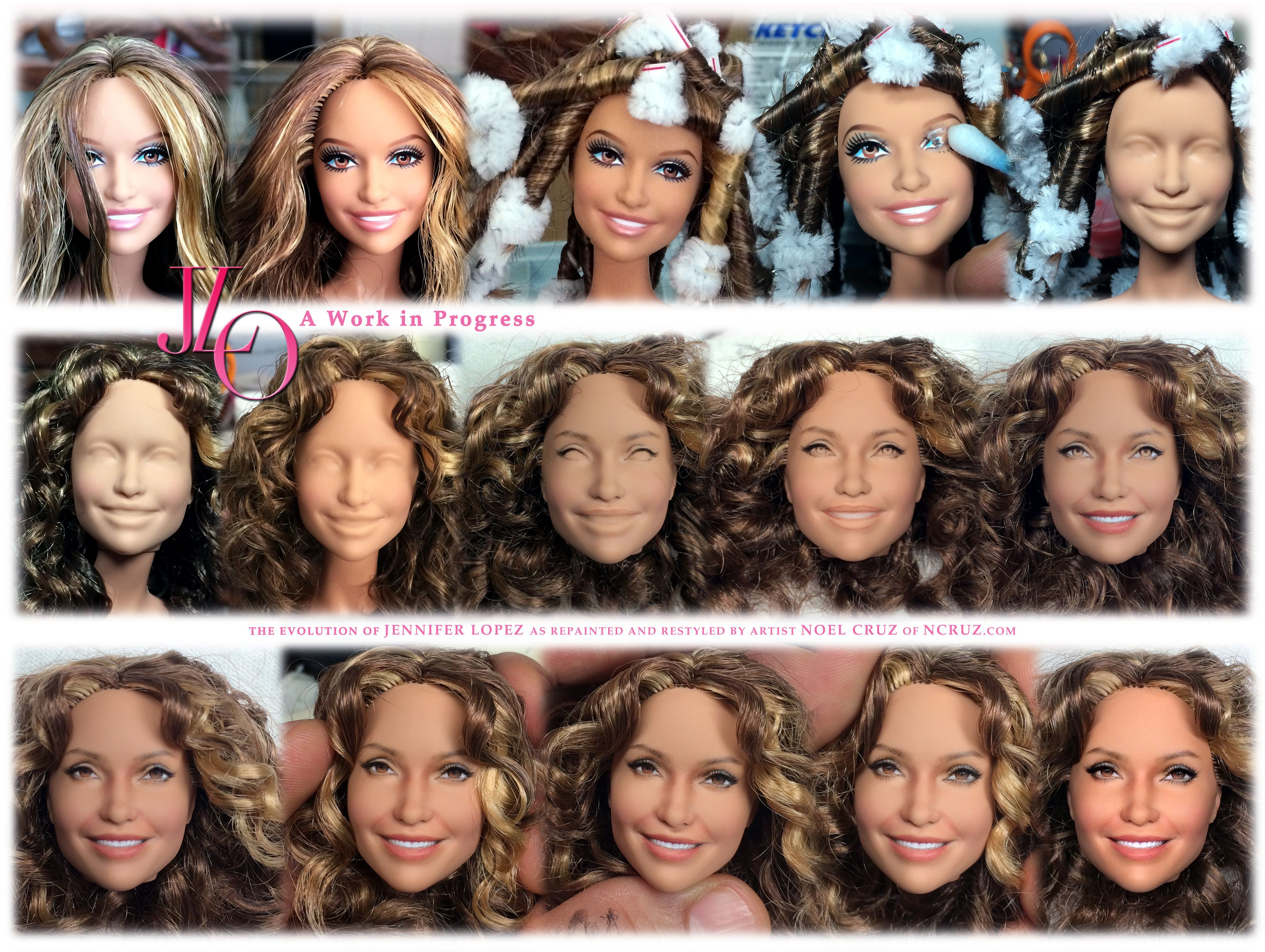 free step by step instructions on how to repaint barbie doll - Google Search