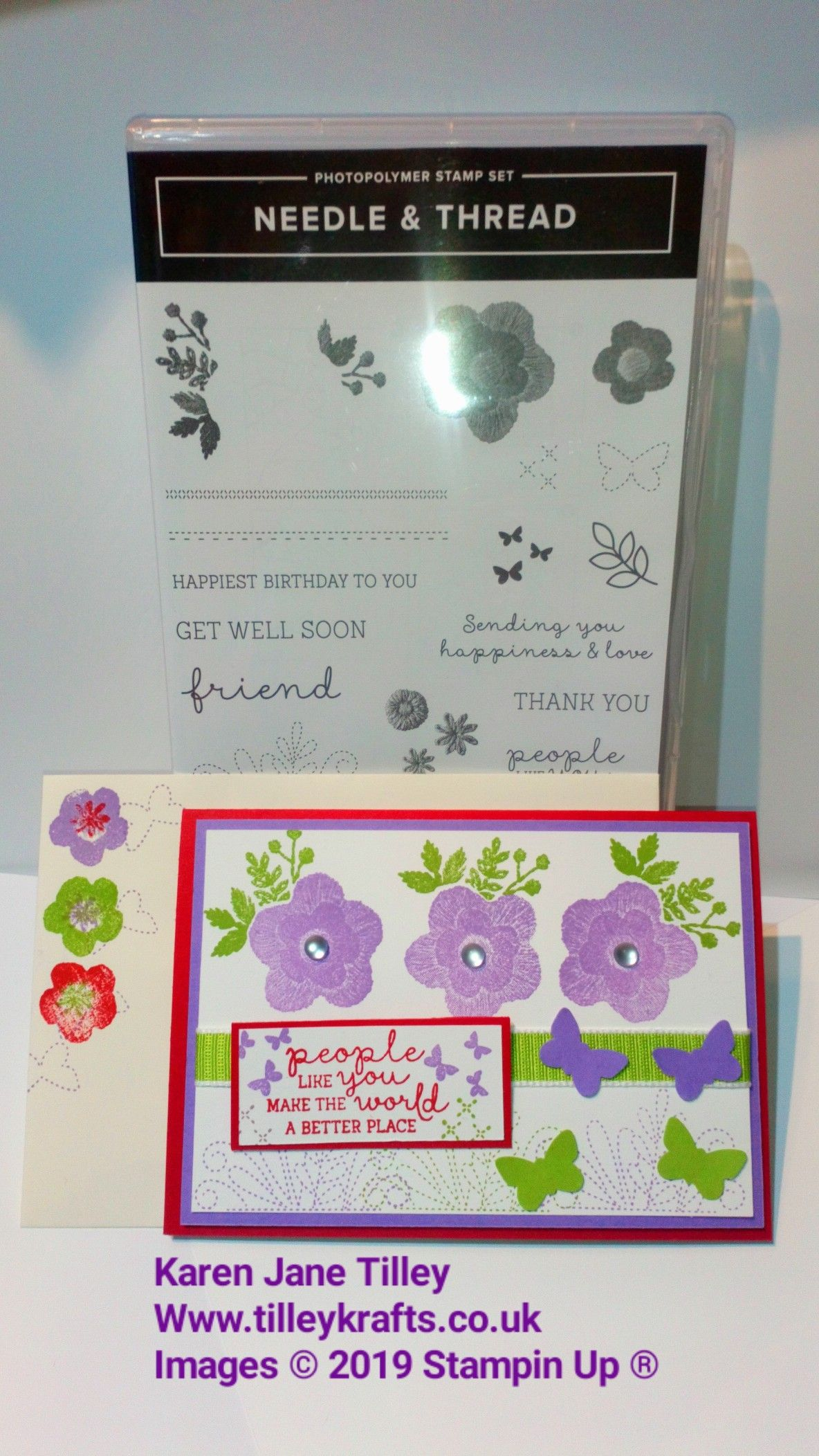 My Card For The Inspireink Blog Hop On 27 Th April I Used