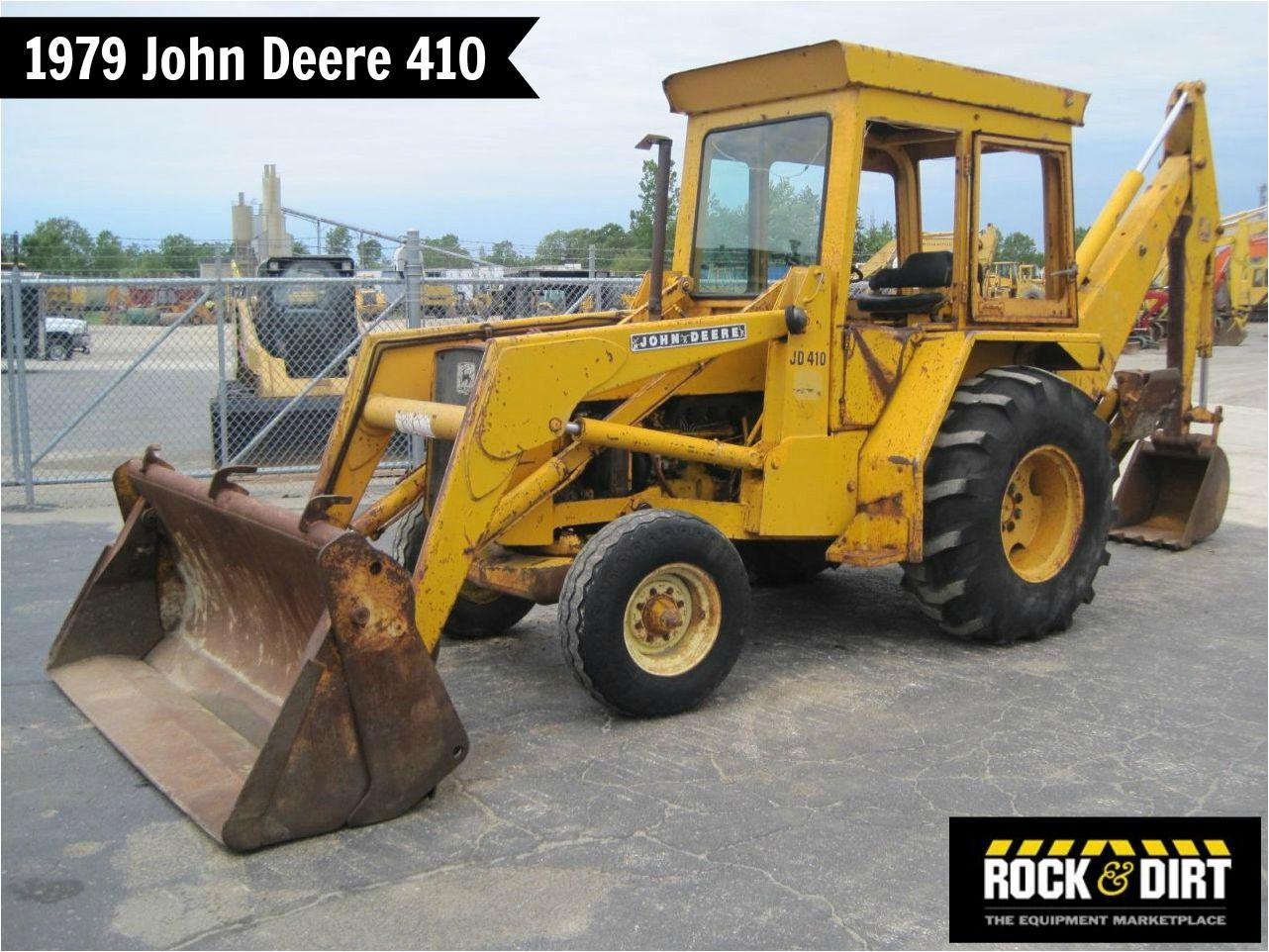 ThrowbackThursday Check out this 1979 John Deere 410