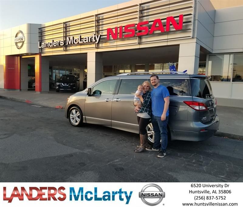 Congratulations Jameson On Your #Nissan #Quest From D.J. Kilgo At Landers  McLarty Nissan !