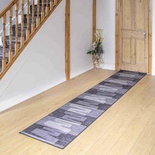 Teppich Angelique in Graphit ModernMoments Teppichgröße: Läufer 80 cm x 330 cm