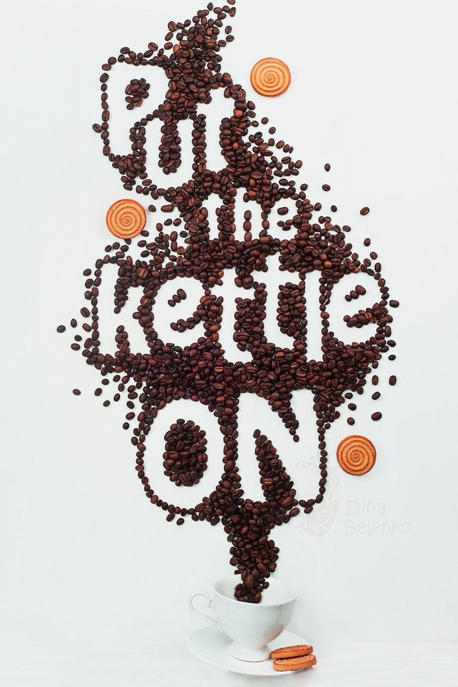 Put the kettle on learn how to get started in food typography in