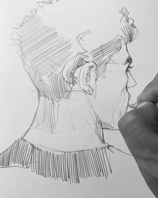There is something in simple sketches that makes you watch them over and over again. Do you agree?  By @maloart 💫  Release your creativity with a BONUS eBook Library by buying NIL Tech Pencil Set, just click ➡️THE WEBSITE LINK   Follow us on: 👉FB /NiLTechClub🎨 👉IG @love_to_draw_nil 🎨 👉Pinterest @NiLTechArt ✔️For More Great works ✔️Chance to get featured   #art #love #drawing #draw #picture #artist #pen #pencil #beautiful #masterpiece #graphic #graphics #niltech #pencildrawing #sketch # Bra