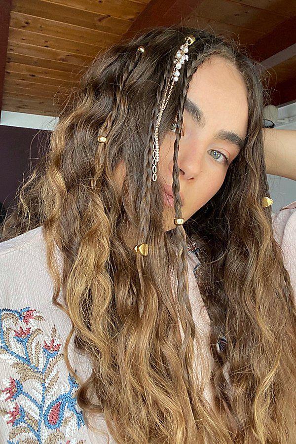 Donut Hair Charms In 2020 Hair Charms Hair Styles Hippie Hair