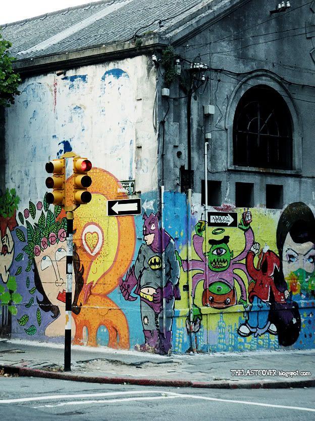 Graffiti On The Corner Montevideo Uruguay Photography Street