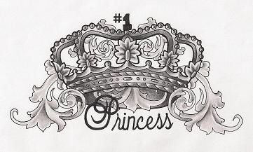 Princess Crown So Want This For My Ava Tattoo 3 My Style Tattoos