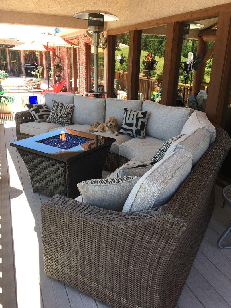 Beachcroft 4 Piece Outdoor Patio Sectional Patio Sectional West