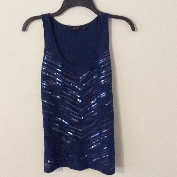 Sparkly top Make offer Apt 9 Tops Tank Tops