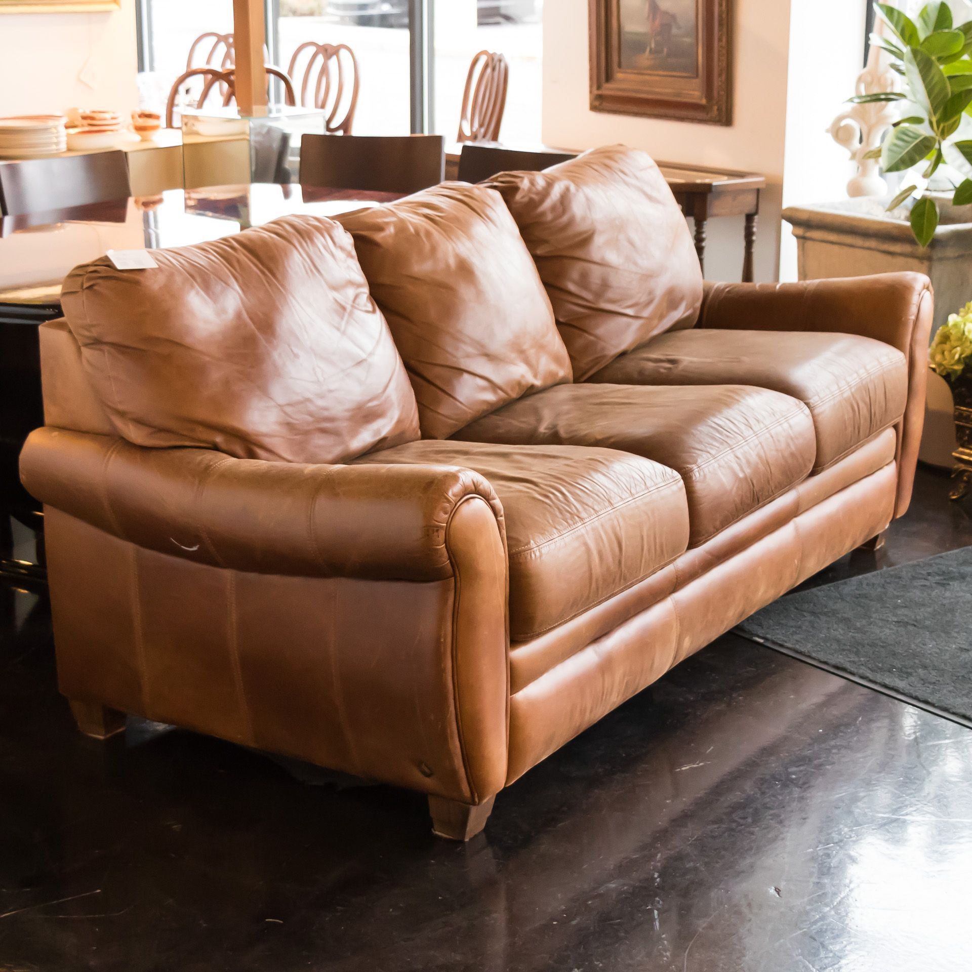 Pottery Barn Brown Leather Sleeper Sofa Leather Sleeper Sofa Sofa Sleeper Sofa