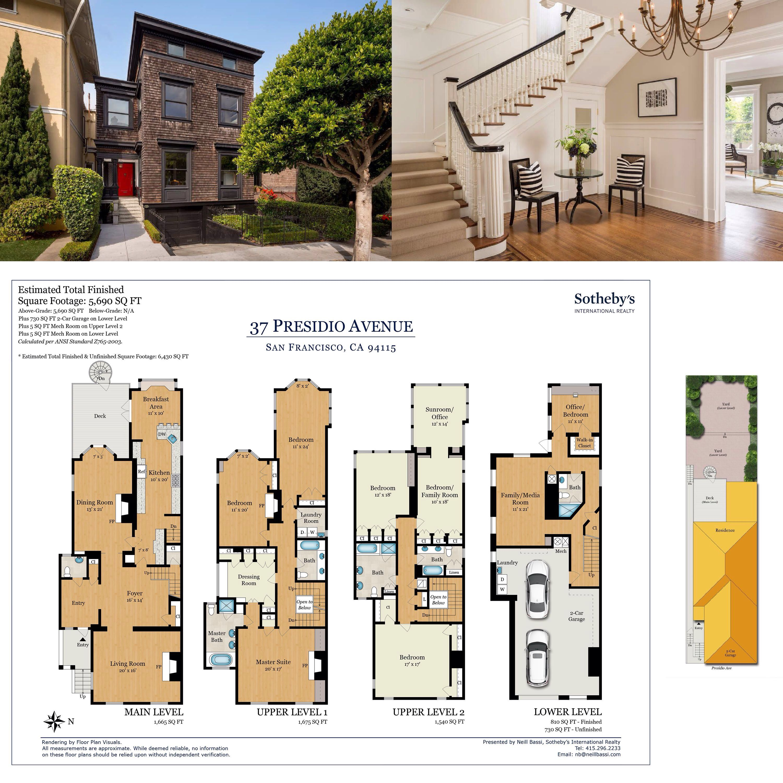 37 Presidio Ave San Francisco Ca 94115 Sotheby S International Realty Inc San Francisco Houses Victorian House Plans San Francisco Victorian Houses