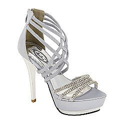 Crazy shoes, Me too shoes, Silver heels
