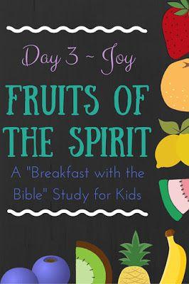 children sunday school lesson on joy