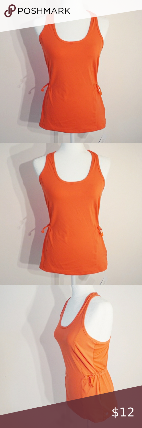 Fabletics Breathable Mesh Drawstring Workout Tank Athletic Tank Tops Fabletics Workout Tanks