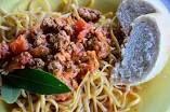 Rachael's Three-Meat Bolognese Sauce #bolognesesauce