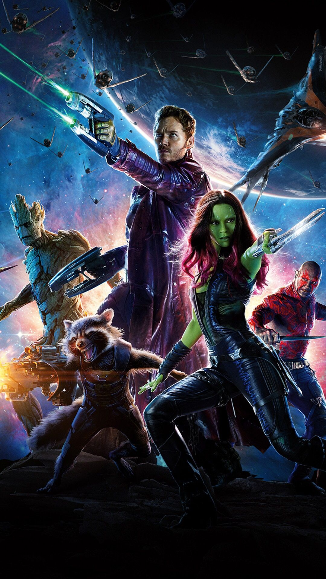 Earlier Marvel also revealed the official poster for James Gunn s Guardians of the Galaxy and it had this The Avengers meets Star Wars vibe which is what
