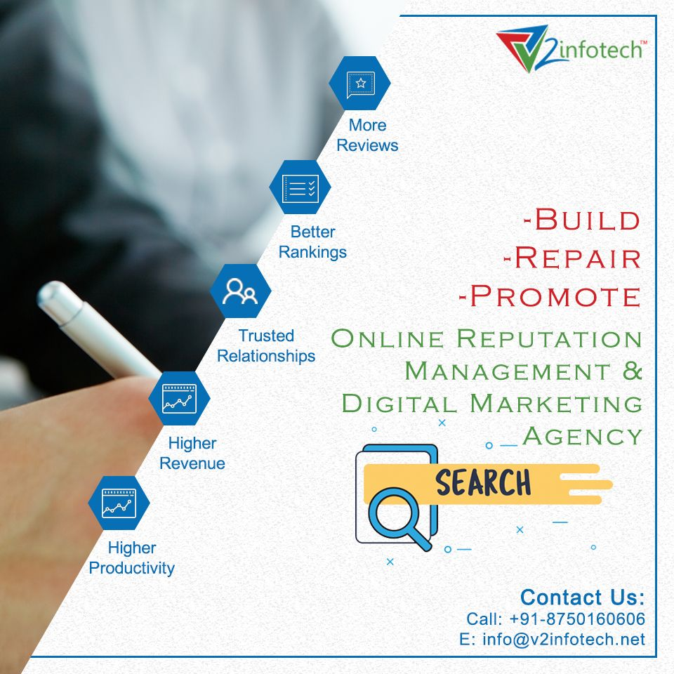 Pin by v2infotech on Digital Marketing Website
