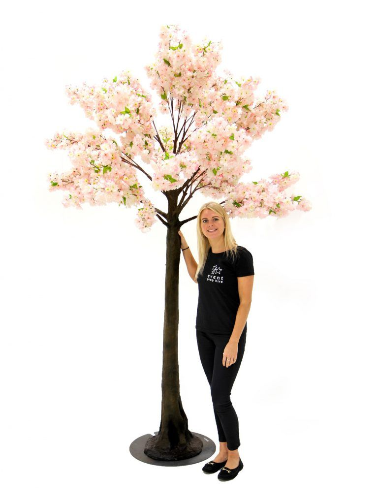 Pink Cherry Blossom Tree 2 7m Event Prop Hire Pink Cherry Blossom Tree Cherry Blossom Tree Event Props
