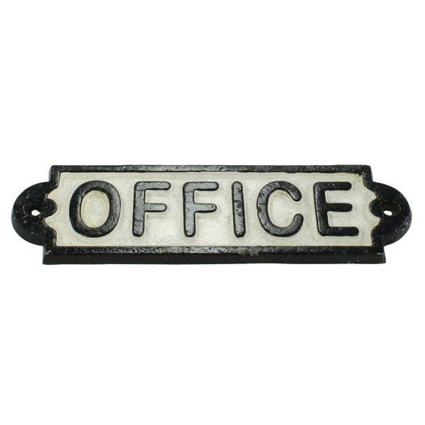 Bon Vintage Style Office Sign $15.95