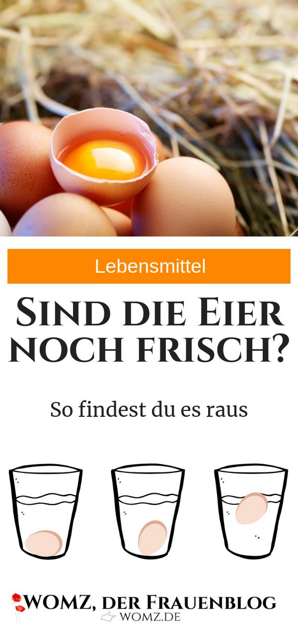 wie testet man eier