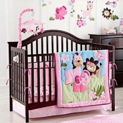 Baby S First On Safari 5 Piece Crib Set Sears Buying Appliances Crib Sets Cribs