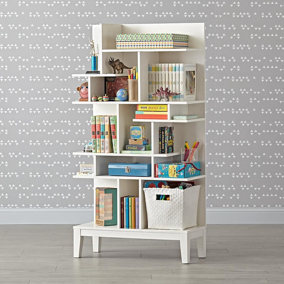Modern Maze Tall Bookcase