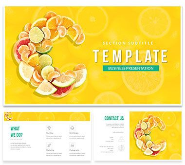 Vitamin c tablets powerpoint template template vitamin c tablets powerpoint template toneelgroepblik Image collections