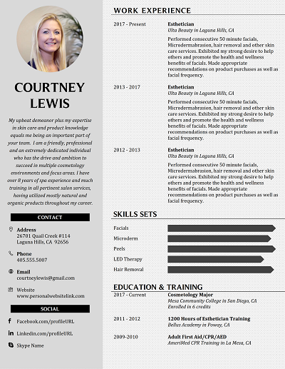 Principled Functional Resume Template Functional Resume Resume Template Word