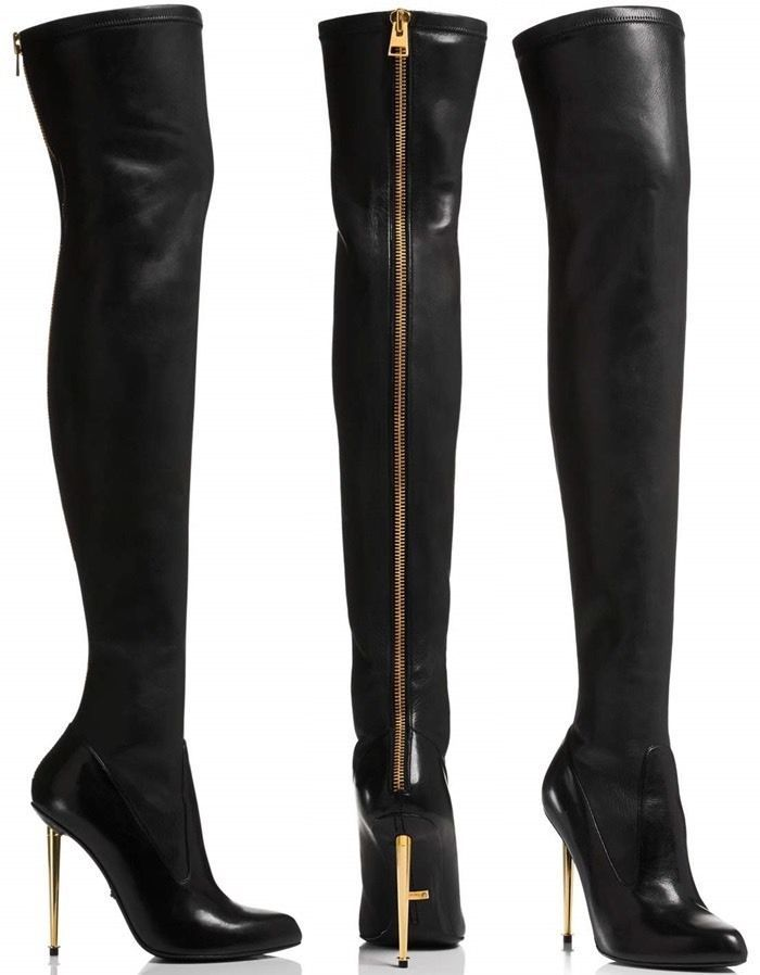 1aad7d86e039 Tom Ford Over The Knee Boots  TomFord  OverKneeBoots  Clubwear