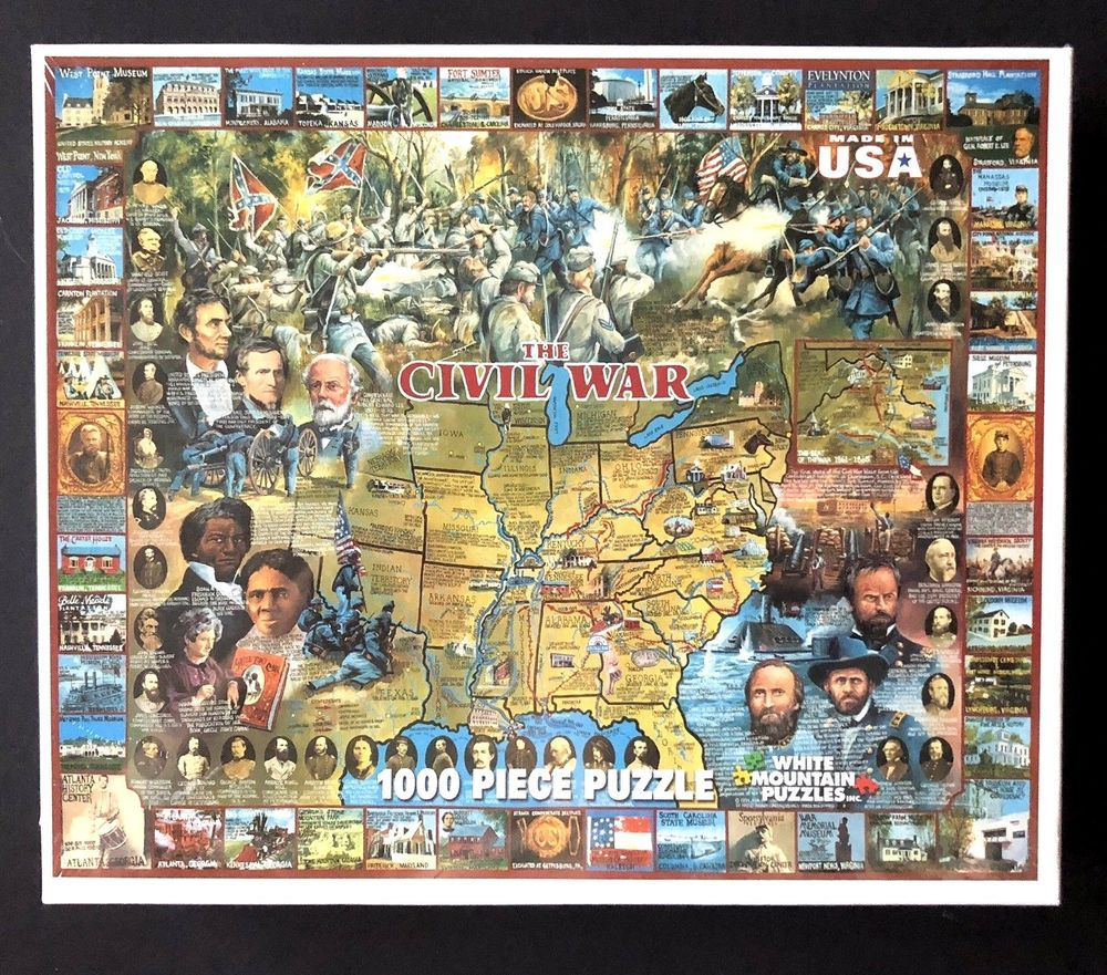 White Mountain Puzzles The Civil War Jigsaw Puzzle 2011