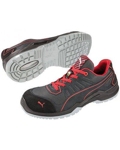 new style 6f563 71b11 Puma Safety 64.420.0 Fuse TC Red Low S1P ESD SRC