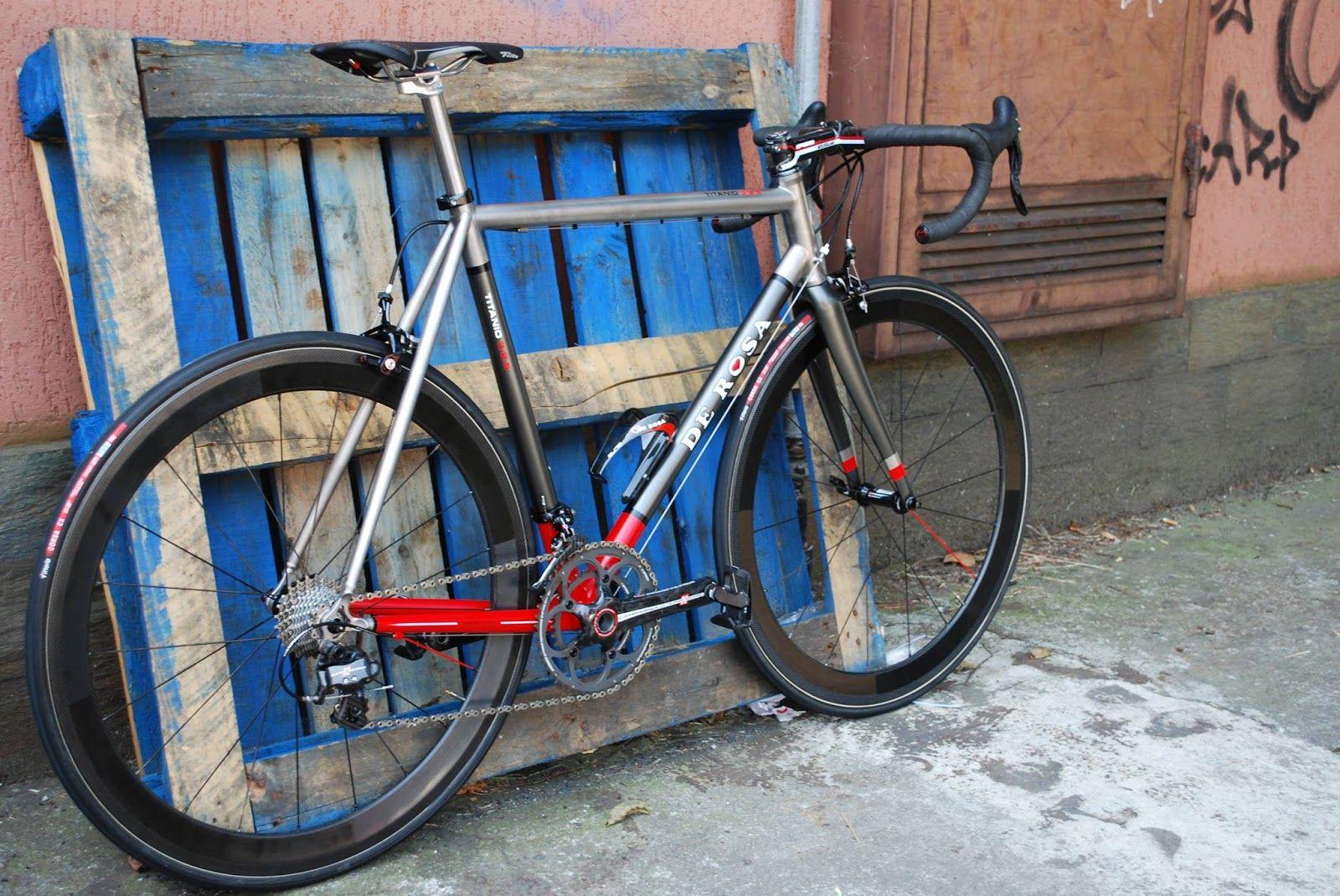 De Rosa Bicycles - BIKEADELIC: Pic of the Day - De Rosa Titanio 2014 ...