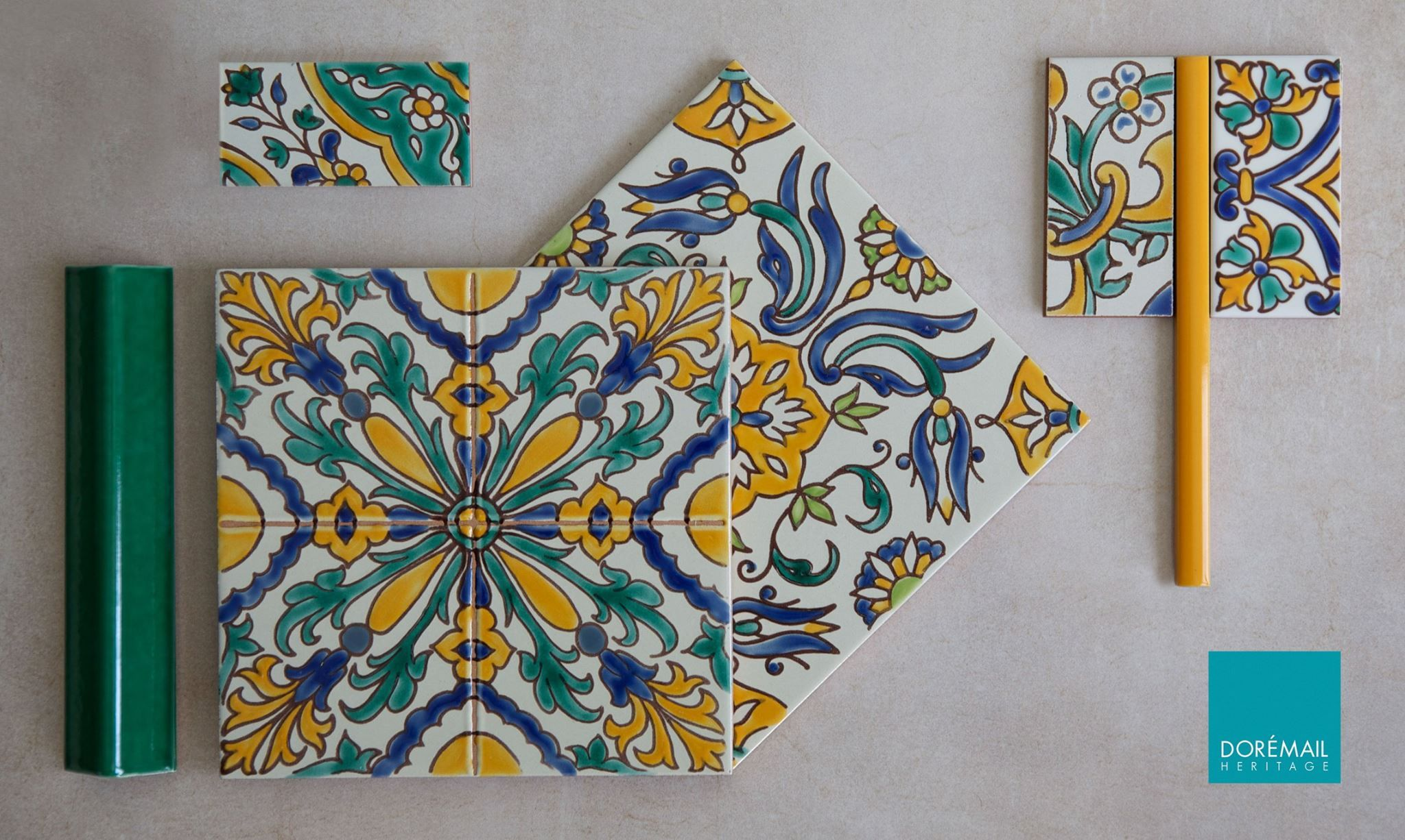 Doremailmoodboard Les Tunisiennes A L Honneur La Richesse Du Patrimoine Tunisien Avec Les Carreaux Decores Main Constanti Carreaux Ceramique Faience Carreau