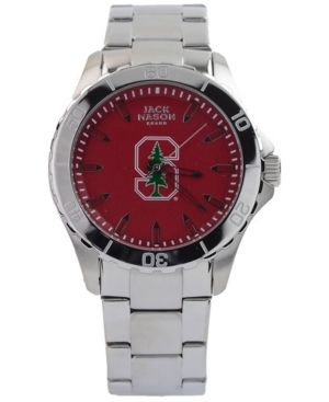 ba44aa67b1087 Jack Mason Men's Stanford Cardinal Color Sport Bracelet Watch ...