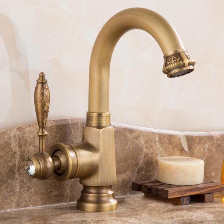 New arrival water tap high quality antique kitchen faucet cold and ...