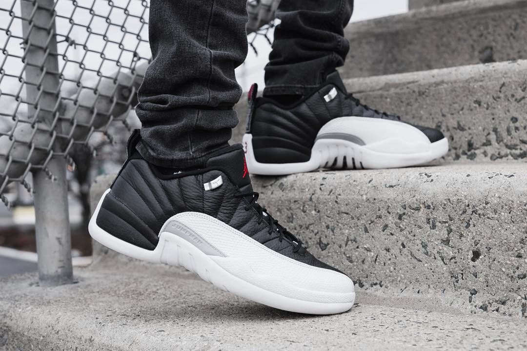 air jordan 12 retro low playoff