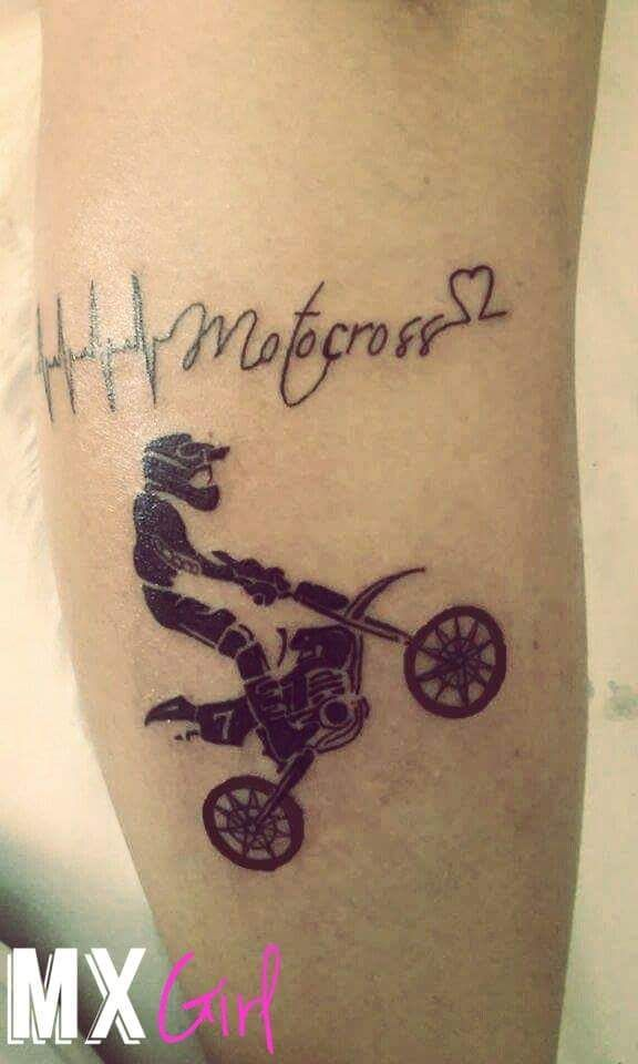 Pin By Jess Roesler On Dirt Bikes Dirt Bike Tattoo Tattoos Bike